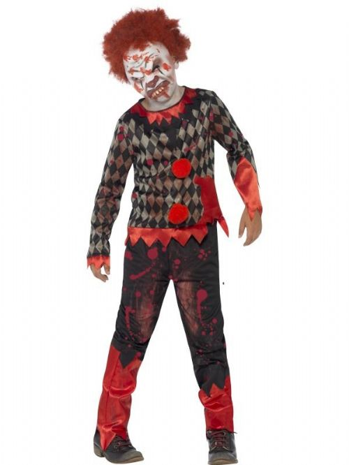 Deluxe Zombie Clown Costume